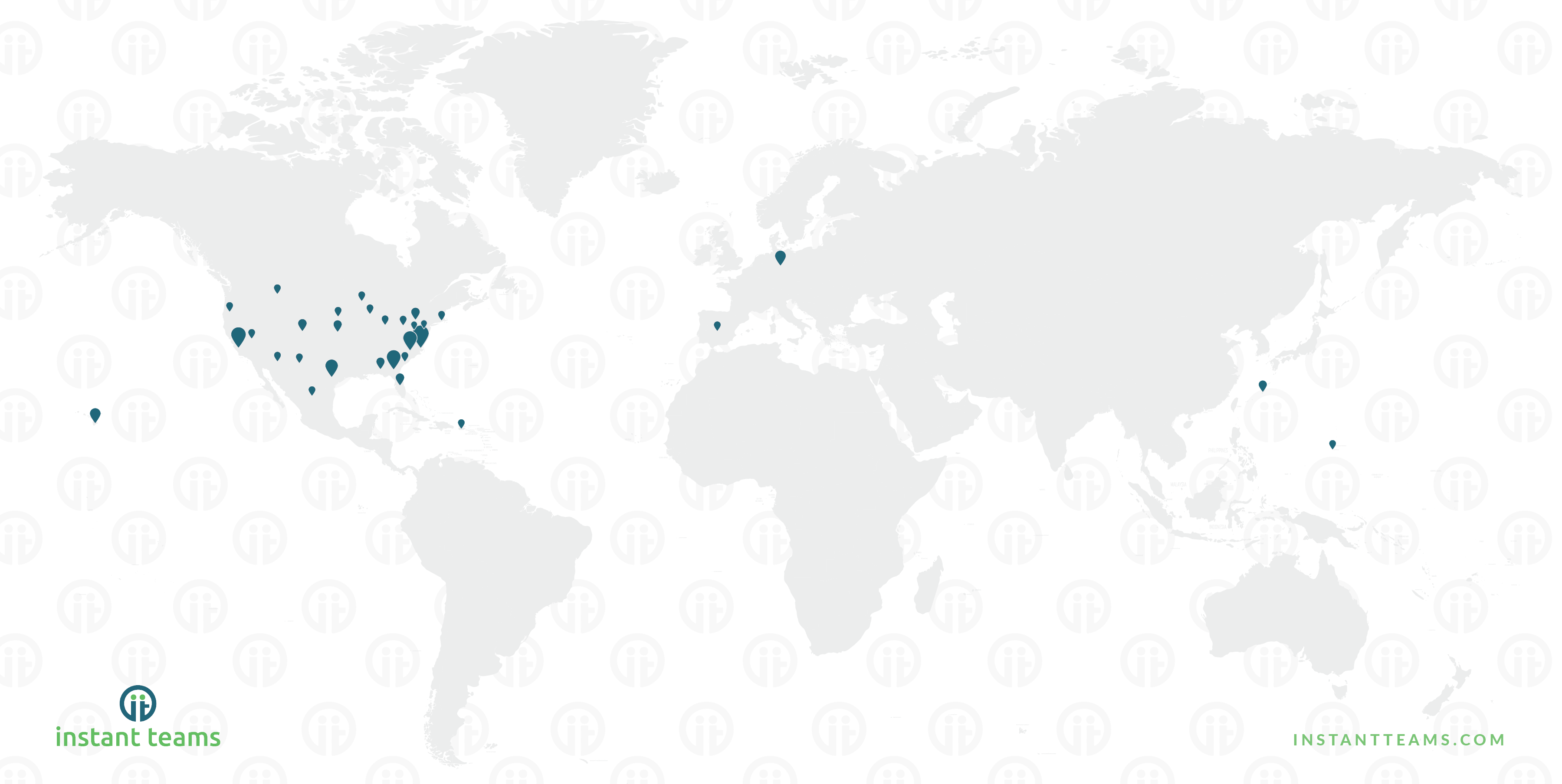 OCONUS remote work worldmap